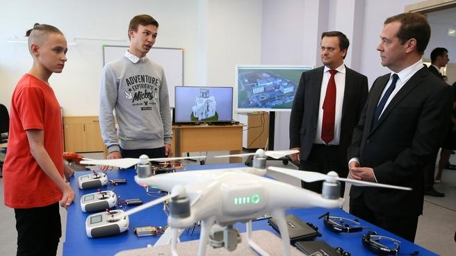 Лаборатория «Аэронет». © Фото с сайта правительства РФ government.ru