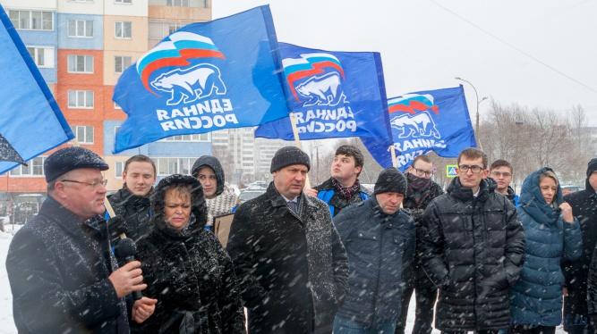 На открытии парка присутствовали депутаты Владимир Тимофеев и Галина Смирнова, вице-мэр Павел Морозов, а также главный архитектор города Евгений Жилин.