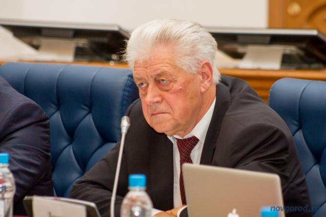 Депутат фракции КПРФ Валерий Гайдым. © Фото из архива интернет-портала «Новгород.ру»