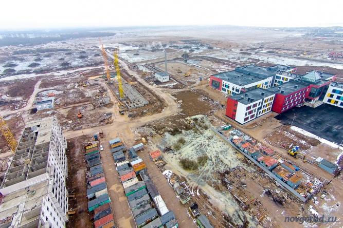Подготовка территории под строительство продолжения микрорайона «Ивушки».