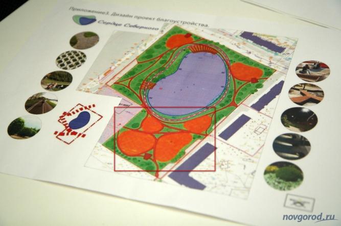 Концепцию рекреационной зоны разработал архитектор Сергей Форер. В этом году будет реализована лишь часть проекта.