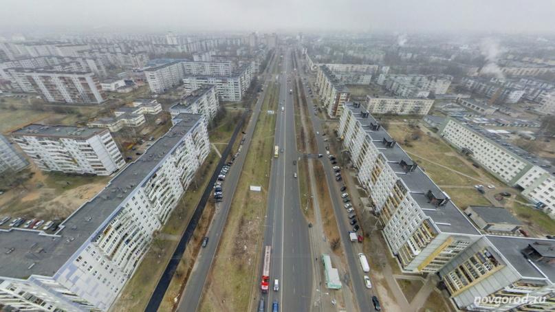 Проспект Мира. © Фото из архива интернет-портала «Новгород.ру»