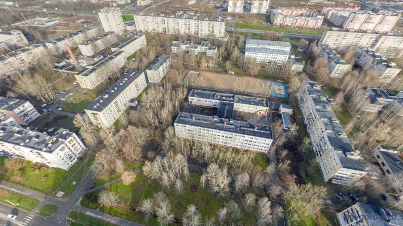 Школа №13 на улице Рахманинова. © Фото из архива интернет-портала «Новгород.ру»