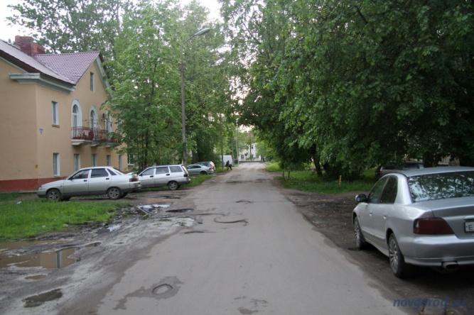 улица Локомотивная.