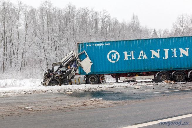 ДТП  на 550-м километре ФАД «Россия».