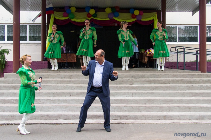 Сергей Вяткин летом 2016 года во время предвыборной кампании. © Фото из архива интернет-портала «Новгород.ру»