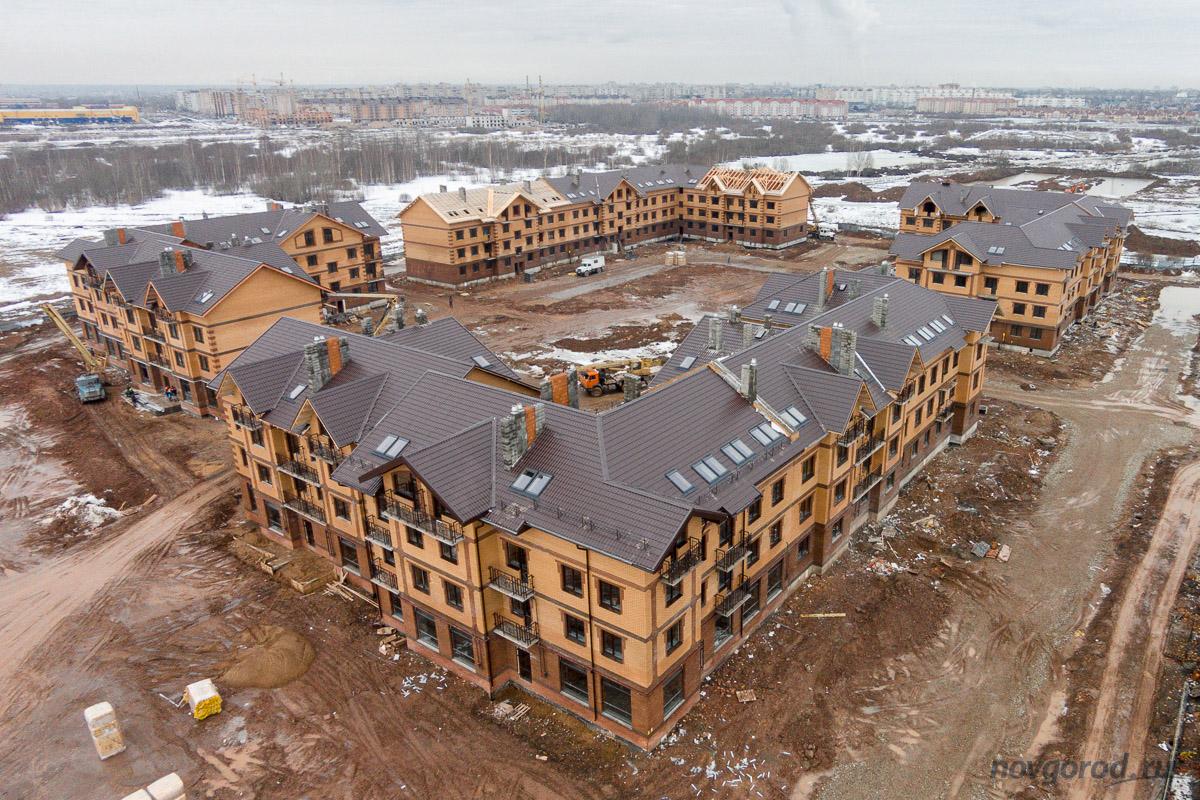 великий новгород в январе фото