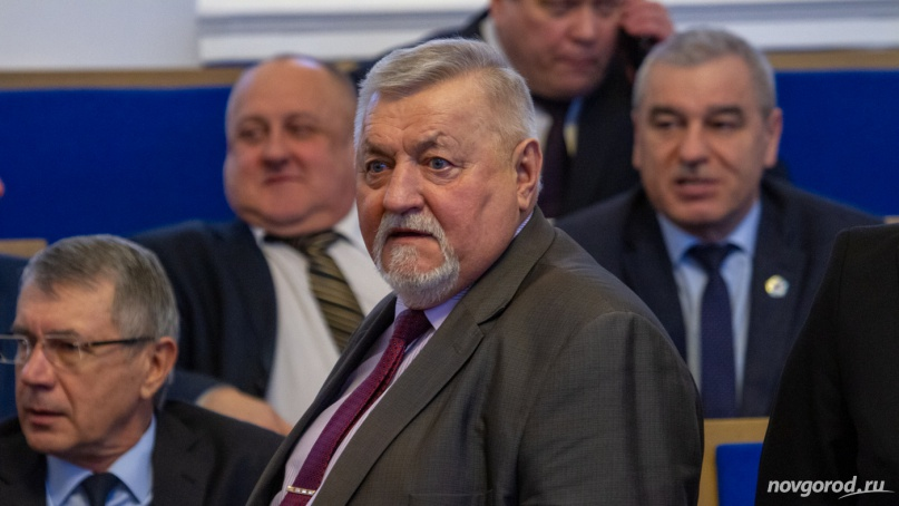 Глава Маловишерского района Николай Маслов. © Фото из архива интернет-портала «Новгород.ру»