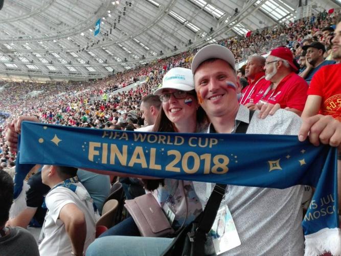 Михаил Толков, смотрел финал Франция-Хорватия.
