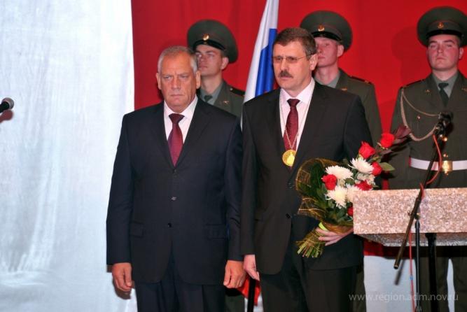 Александр Гавриленко (справа). © Правительство Новгородской области