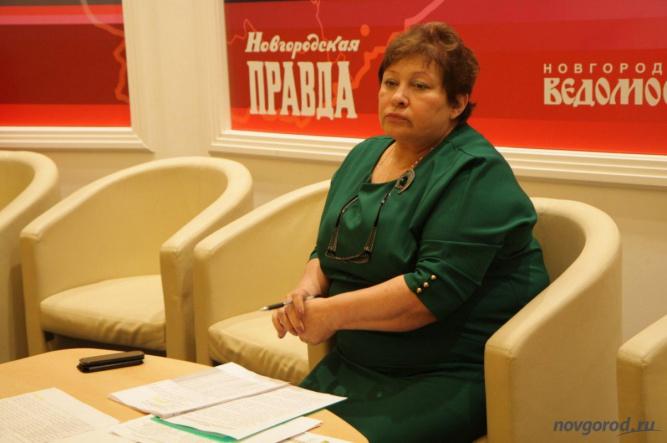 Председатель избирательной комиссии Новгородской области Татьяна Лебедева.