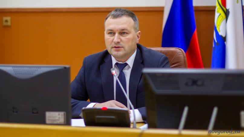 Мэр Сергей Бусурин.