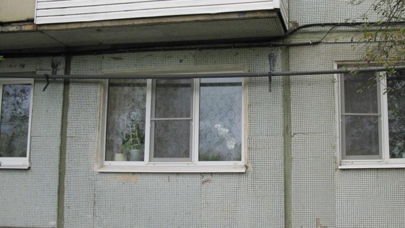 Фасад дома №7 по улице Дачная.