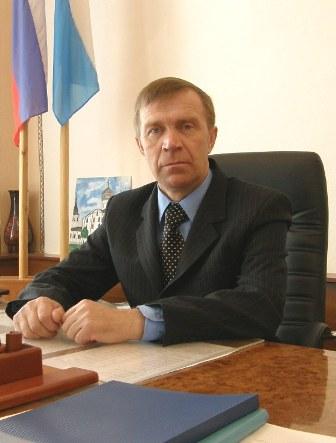 Глава Мошенского района Алексей Кондратьев. © Фото с сайта moshensk.ru