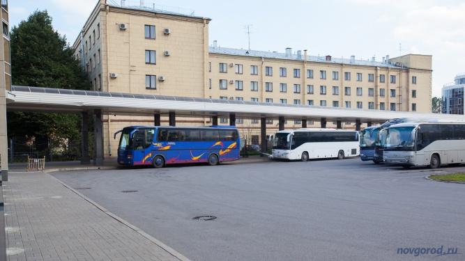 Автовокзал на Обводном канале. © Фото из архива интернет-портала «Новгород.ру»