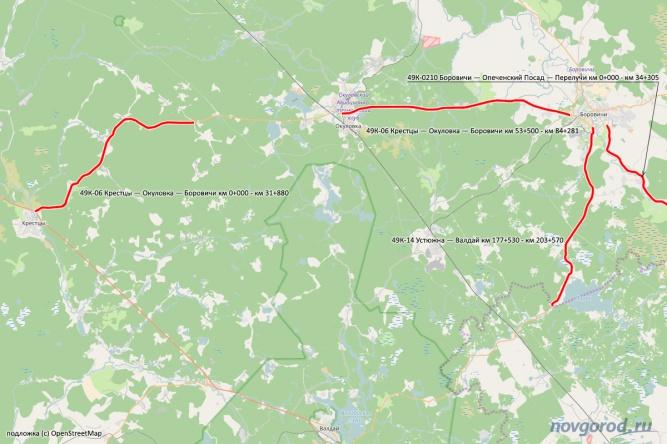 Схема ремонта дорог по аукциону на 616,9 млн рублей.