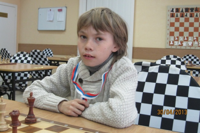 Арсений Нестеров. © Фото с сайта www.novgorodchess.org