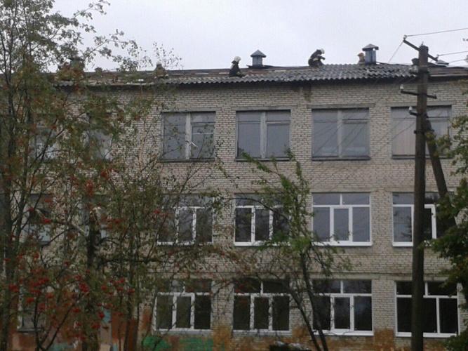 Здание школы. © Елена Шишкова