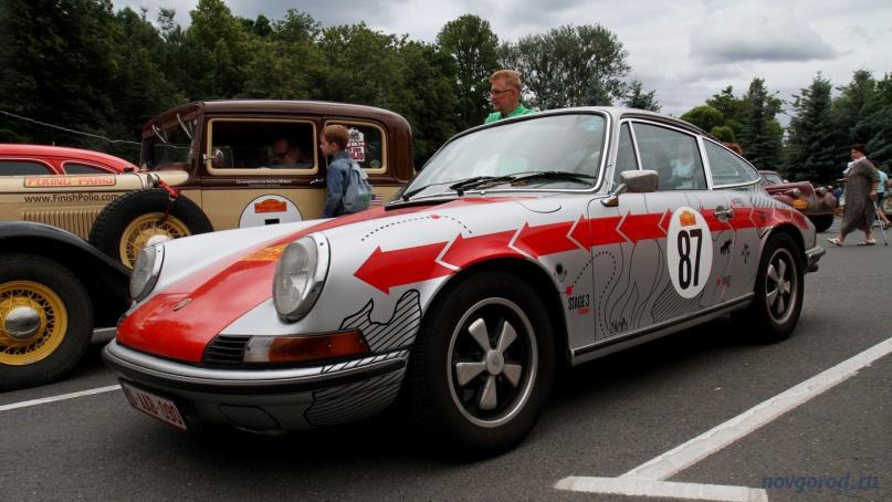 Porsche 911T, год выпуска — 1973.