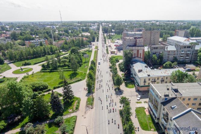 Велопарад в 2016 году. © Фото из архива интернет-портала «Новгород.ру»