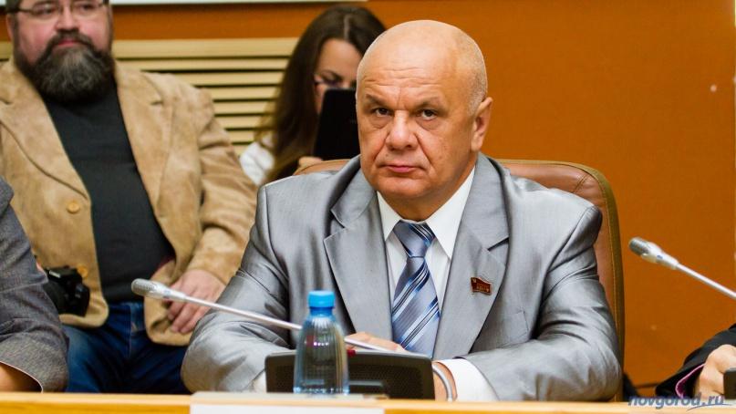 Сергей Молоканов (КПРФ). © Фото из архива интернет-портала «Новгород.ру»
