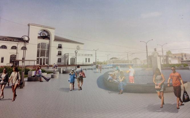 Решения по благоустройству, предложенные ООО «Куб» и ООО «КБ Стрелка». © «Новый город»