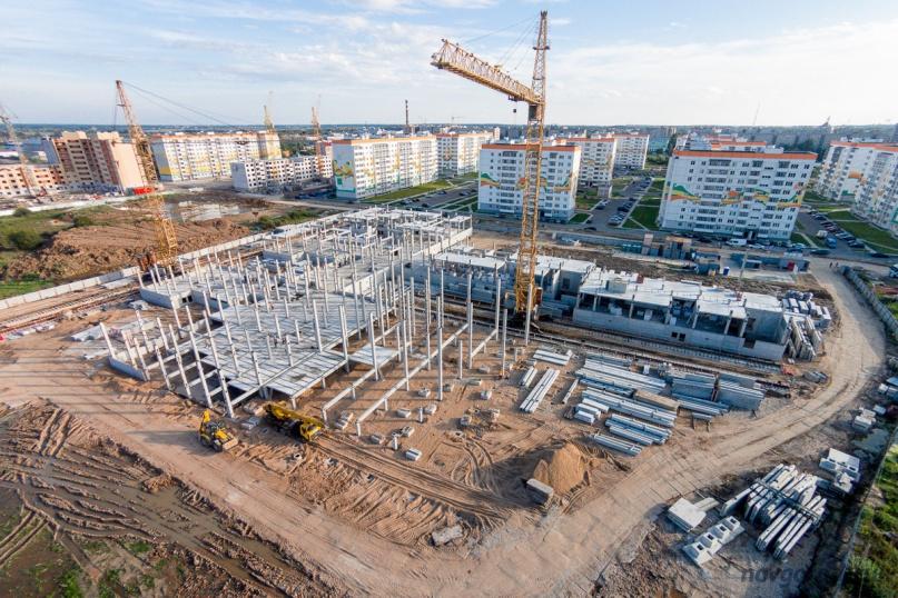 Строительство школы №36, Фото из архива интернет-портала «Новгород.ру».