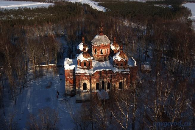 Рдейский монастырь. © Фото из архива интернет-портала «Новгород.ру»