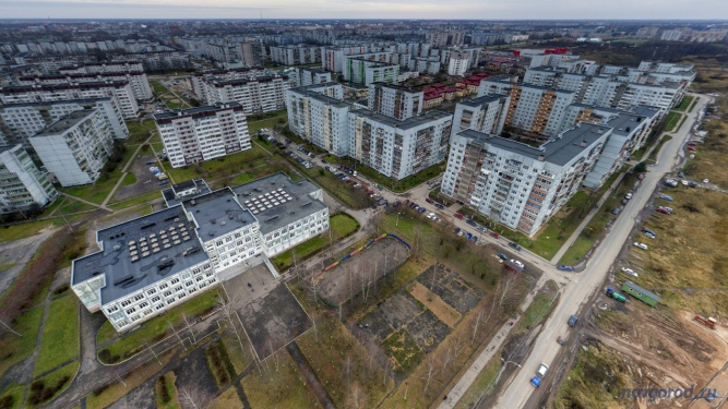 Улица Коровникова. © Фото из архива интернет-портала «Новгород.ру»