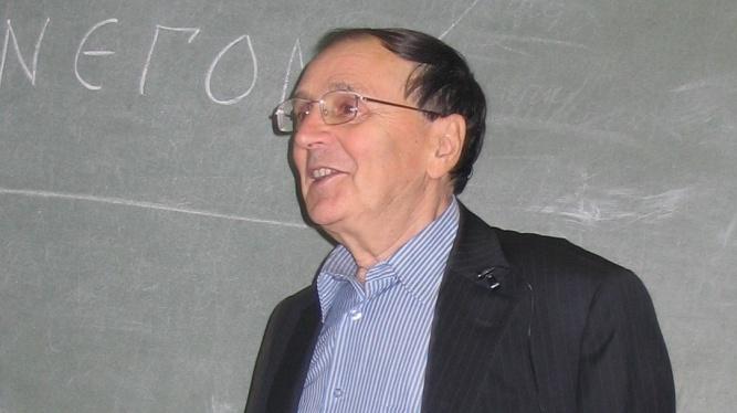 Андрей Зализняк. © Mitrius / Wikipedia