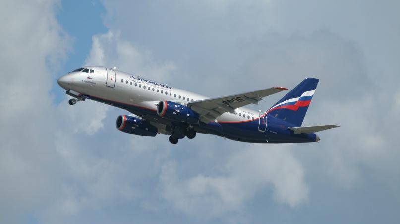 SSJ100. © Объединенная авиастроительная корпорация
