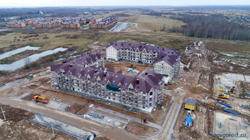 ЖК «Европа» строится в Псковском микрорайоне Великого Новгорода. © Фото из архива интернет-портала «Новгород.ру»