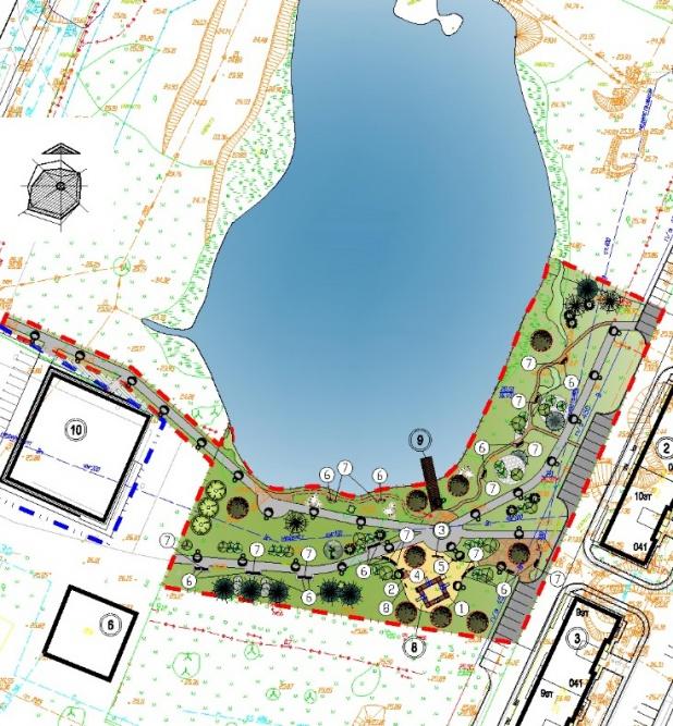 Проект будущего парка. © Администрация Великого Новгорода