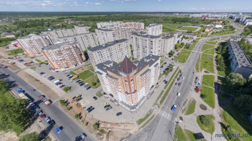 Пересечение улиц Нехинская и Кочетова. © Фото из архива интернет-портала «Новгород.ру»