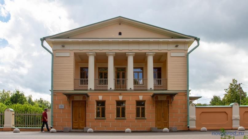 Путевой дворец Екатерины II в Коростыни.