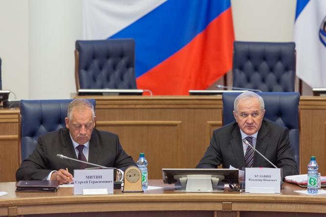 Владимир Булавин (справа). © Правительство Новгородской области