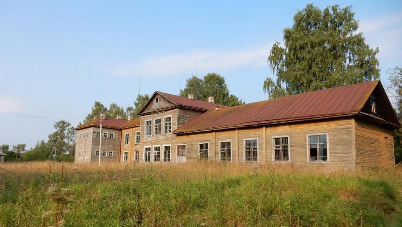 Устрекская школа после закрытия. © Фото читателя
