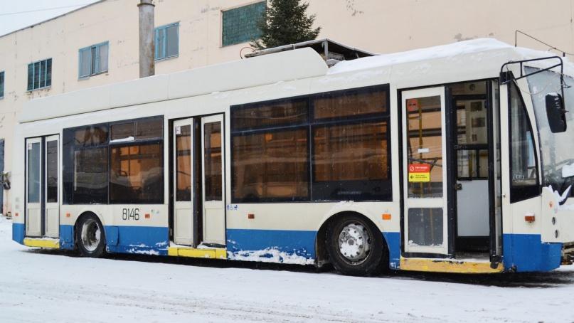 Троллейбус Тролза-5265.0* «Мегаполис». © mintrans.novreg.ru