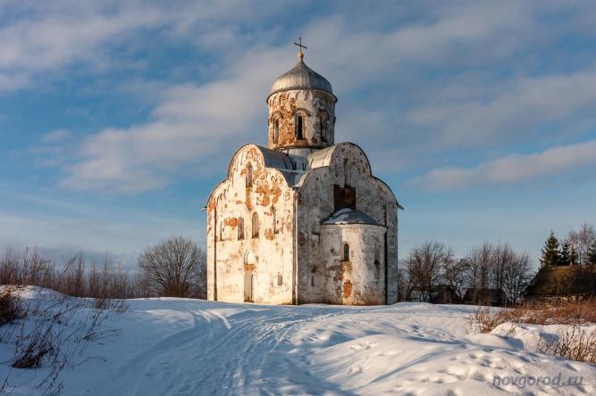 Церковь Николы на Липне. © Фото из архива интернет-портала «Новгород.ру»
