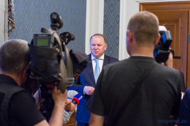 © Полпред президента РФ в СЗФО Николай Цуканов