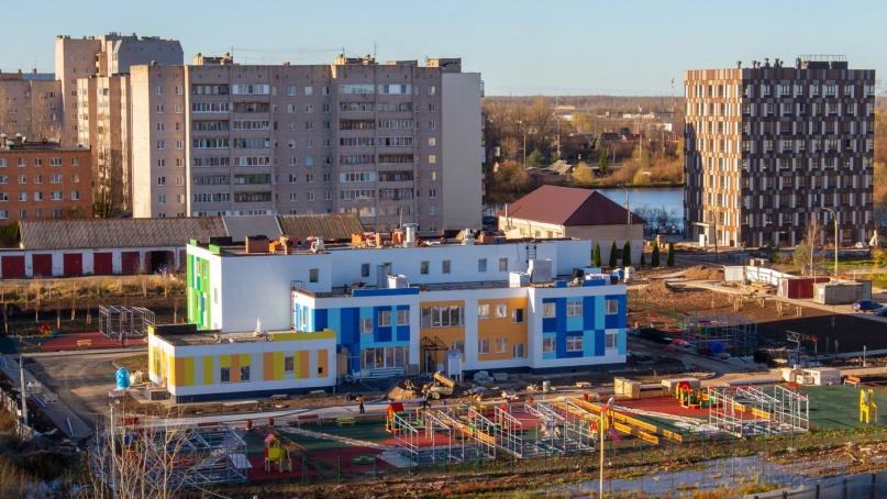 Детский сад на улице Вересова. © Фото из архива интернет-портала «Новгород.ру»