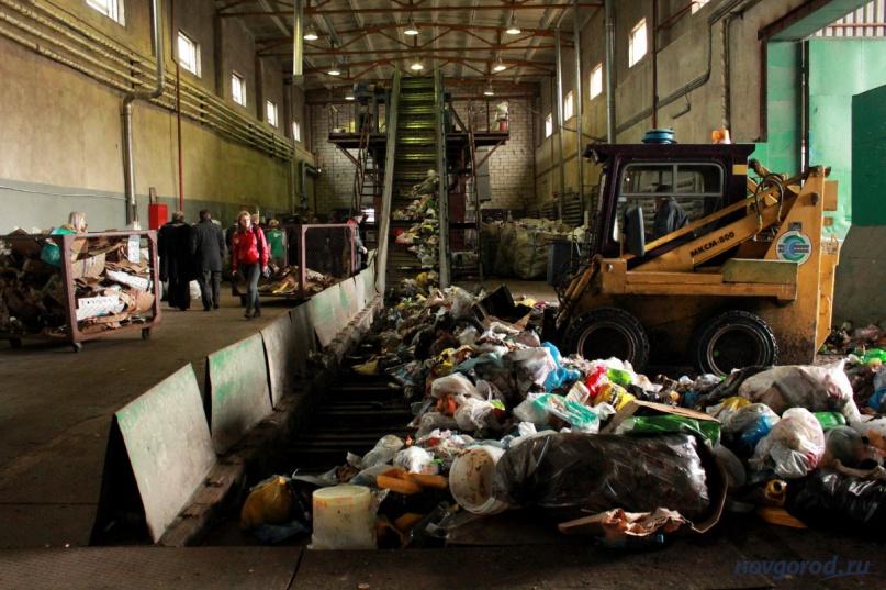 Мусоросортировочный комплекс в Великом Новгороде. Фото из архива интернет-портала «Новгород.ру» ©