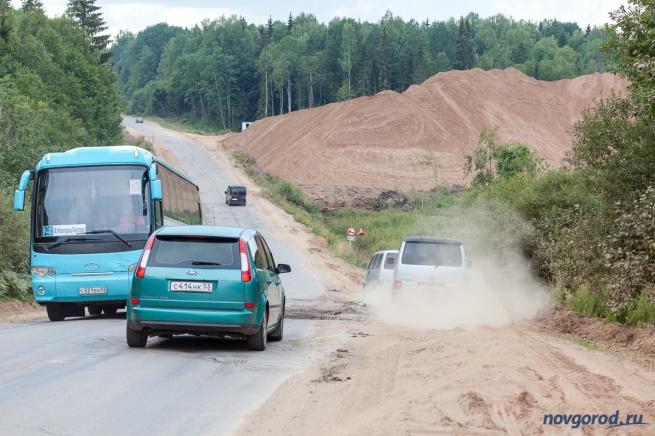Дорога в Окуловском районе. © Фото из архива интернет-портала «Новгород.ру»