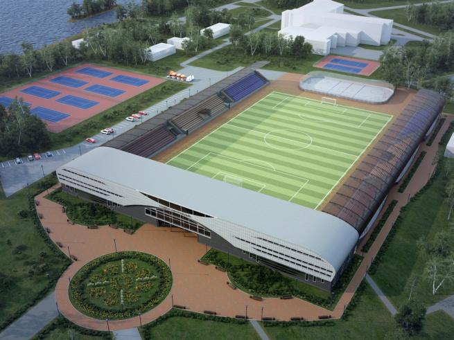 Проект реконструкции стадиона «Центральный».