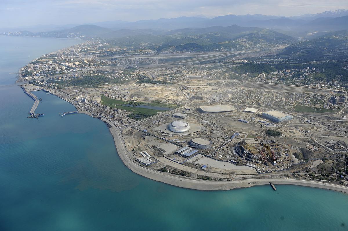 фотографии олимпийских объектов после олимпиады масло