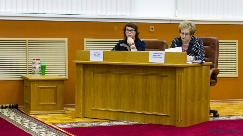 Екатерина Красновидова (справа). © Фото из архива интернет-портала «Новгород.ру»