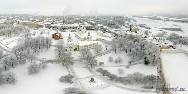 Ярославово дворище, Торговая сторона. © Фото из архива интернет-портала «Новгород.ру»