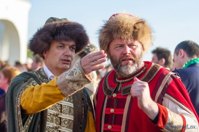 Николай Новичков (справа). © Фото из архива интернет-портала «Новгород.ру»