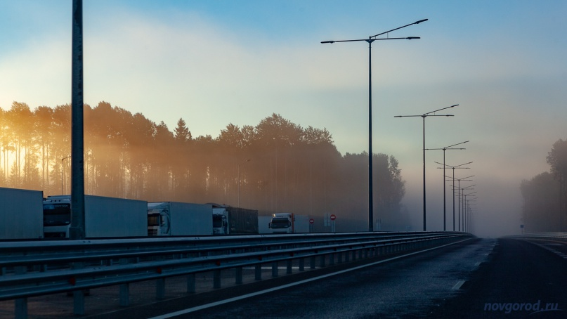 Автомагистраль М11 в Новгородской области. © Фото из архива интернет-портала «Новгород.ру»