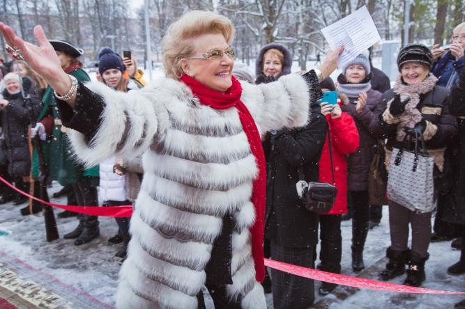 Светлана Дружинина на открытии фестиваля «Вече» в 2016 году. © Фото Сергея Суфтина